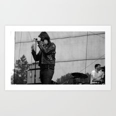 Julian Casablancas - The Strokes at Bonnaroo 2011 Art Print