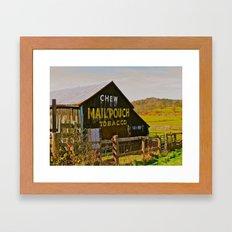 Mail Pouch Barn WV Framed Art Print