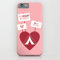 iPhone & iPod Case featuring Occupy My Heart by Hello Narwhal