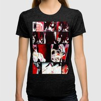 The Gore Gore Girls Womens Fitted Tee Tri-Black SMALL