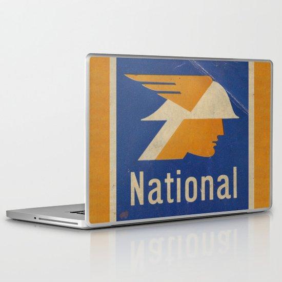 National Logo Laptop & iPad Skin