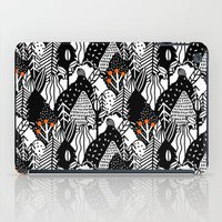 In The Forest_B&W iPad Case