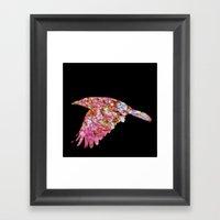 The Rook #V Framed Art Print