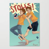 The Stoll Brothers Canvas Print