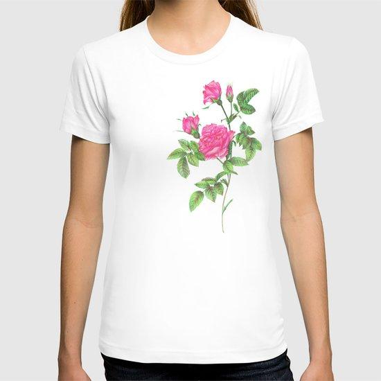 Ballpoint Pen, Redouté's Roses T-shirt