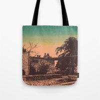 Overlook Sunset Tote Bag