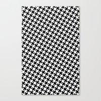 Houndstooth (Pepita) Canvas Print