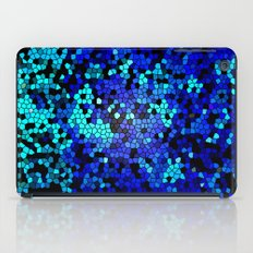 STAINED GLASS BLUES iPad Case