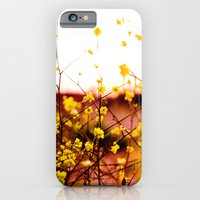 iPhone & iPod Case featuring Flowers at Sunset by Loaded Light Photography