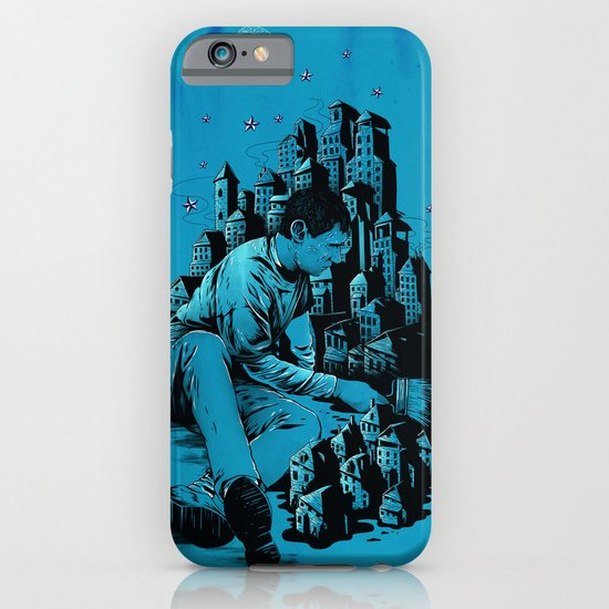The Village Painter iPhone & iPod Case