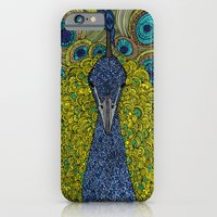 iPhone & iPod Case featuring Mr. Pavo Real by Valentina Harper