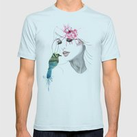 her secret*** Mens Fitted Tee Light Blue SMALL