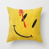 The Watchmen (Super Minimalist series) Throw Pillow