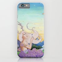 iPhone & iPod Case featuring Dandelion Dream by Ashley Bell