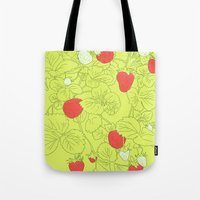 When life gives you strawberries... Tote Bag