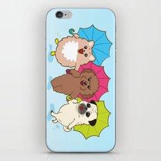 Singin' in the rain iPhone & iPod Skin