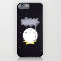 iPhone Cases featuring The moon  by Maria Jose Da Luz