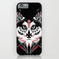 American Indian wolf iPhone 6 Slim Case
