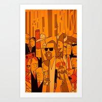 The Big Lebowski (varian… Art Print