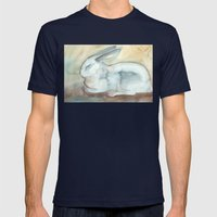 Blue Bunny Mens Fitted Tee Navy SMALL