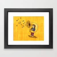 The Dream Of My Childhood Framed Art Print
