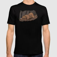 Hibearnation Mens Fitted Tee SMALL Black