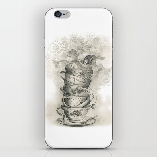 Tea bath iPhone & iPod Skin