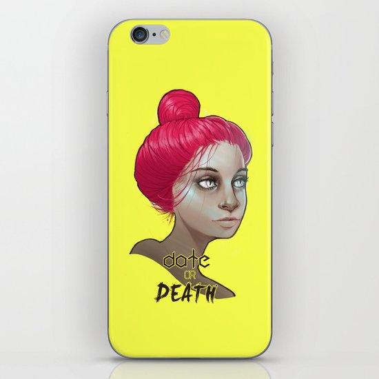 date or death iPhone & iPod Skin