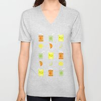 Juice Pattern  Unisex V-Neck