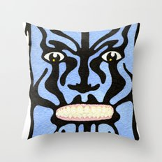 Queequeg Throw Pillow