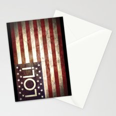 Star spangled LOL Stationery Cards
