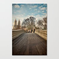 Central Park Crossing Canvas Print