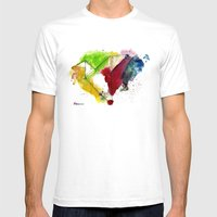 Take Your Origami Skill … Mens Fitted Tee White SMALL