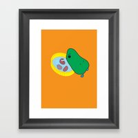 beans2 Framed Art Print