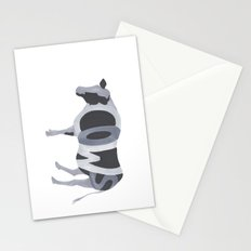 Cows Typography Stationery Cards