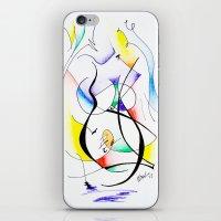 Cuerpo De Mujer (estudio… iPhone & iPod Skin