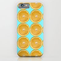 Oranges Fruit Citrus Photo Art iPhone 6 Slim Case