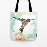 Hummingbird Ayre Serene … Tote Bag