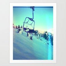 Last Chair Art Print