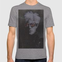 Andy Warhol Mens Fitted Tee Athletic Grey SMALL