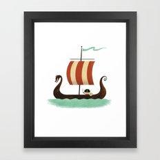 Viking Baby Framed Art Print