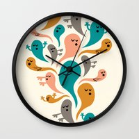Dead Man's Party Wall Clock