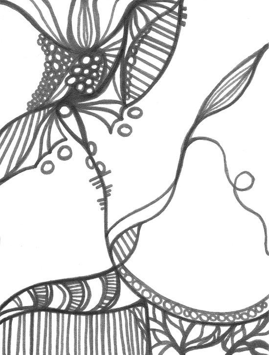 A Bit of an Entanglement My Dear Art Print