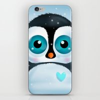 Joc the Penguin iPhone & iPod Skin