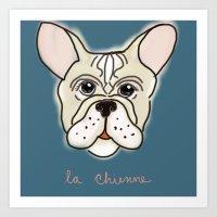 La Chienne Art Print