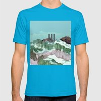 another abstract dream 3 Mens Fitted Tee Teal SMALL
