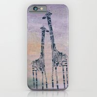 iPhone & iPod Case featuring giraffes by Marianna Tankelevich