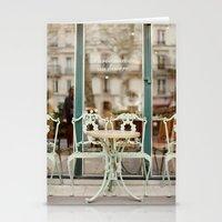 Paris Cafe Stationery Cards