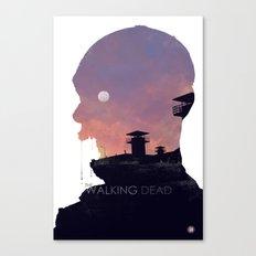 The Walking Dead - Season 3 Canvas Print