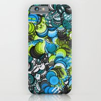 iPhone & iPod Case featuring Ice & Lime by Fabrika